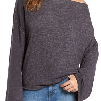 Treasure&Bond Slouchy Fleece Pullover | Nordstrom