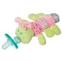 Mary Meyer Wubbanub Plush Pacifier, Cutsie Caterpillar