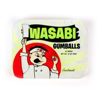 Accoutrements Wasabi Gumballs in Tin