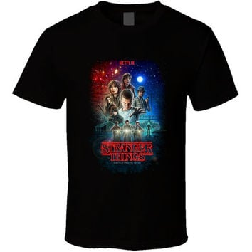 Stranger Things Netflix Tv Series T-shirt
