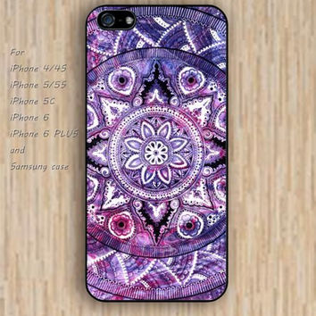 iPhone 5s 6 case colorful nebula fox mandala phone case iphone case,ipod case,samsung galaxy case available plastic rubber case waterproof B350