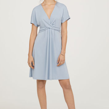 H&M Draped Dress $49.99