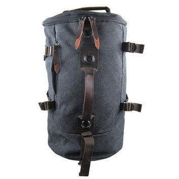 Large capacity man travel bag outdoor mountaineering backpack men bags hiking camping canvas bucket backpacks