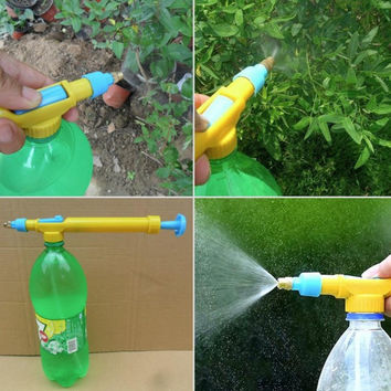 Bottle Pneumatic sprinkler water spray pot spray head push sprayer [11498391311]