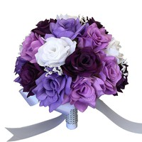 "10"" Bouquet-Shades of Purple"