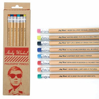 ANDY WARHOL PENCILS