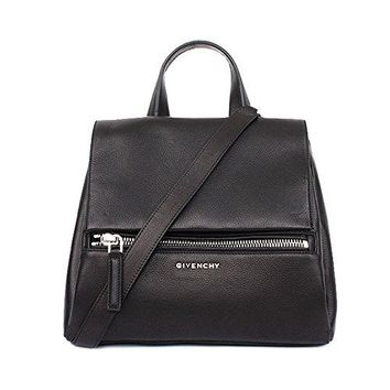ac7d0a0623 Givenchy Womens Pure Pandora Leather Shoulder Bag Black