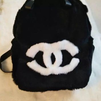 Koko backpack custom design fur backpacks