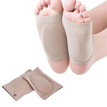 Arch support orthotics insole Plantar fasciitis feet care silicon gel health foot massage pad gel spats elderly antibacterial