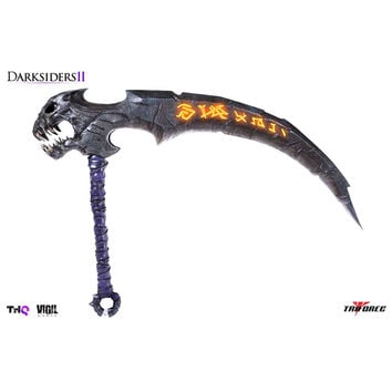 Soul Reaper Scythe Darksiders 2 Project TriForce Full Scale Replica