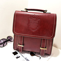 Hot Deal On Sale College Casual Back To School Comfort Korean Stylish Crown Backpack [6581772231]