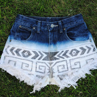 Aztec Hipster Shorts
