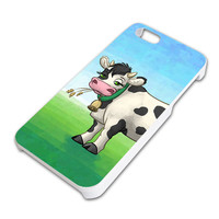Cow in a Field iPhone 5 5S Slim Fit Case