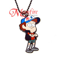 GRAVITY FALLS Dipper Character Pendant Necklace