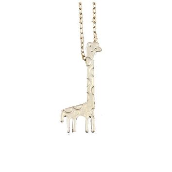 Giraffe Love Pendant Necklace For Women