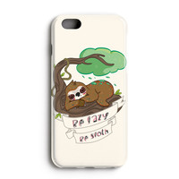 "Apple Iphone 6 Plus 5.5"" Case - The Best 3d Full Wrap Iphone Case - Be Lazy Be Sloth"