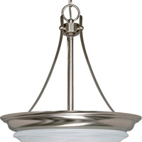 Hanging Dome Pendant Light Fixture (Close-to-Ceiling Conversion Kit Included)