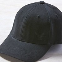 AEO 's Eagle Fitted Cap (Black)