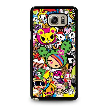DONUTELLA UNICORNO TOKIDOKI COLLAGE Samsung Galaxy Note 5 Case Cover