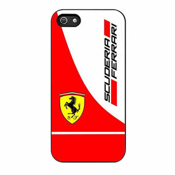 scuderia ferrari logo cases for iphone se 5 5s 5c 4 4s 6 6s plus