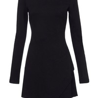Full Circle Rosalla diagonal panelled shift Black - House of Fraser