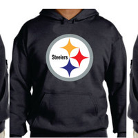 Steelers Unisex Hoodie  Pittsburgh, Pennsylvania Women  Men  with sleeves printed S-5XL sizes