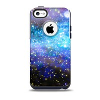 The Glowing Space Texture Skin for the iPhone 5c OtterBox Commuter Case