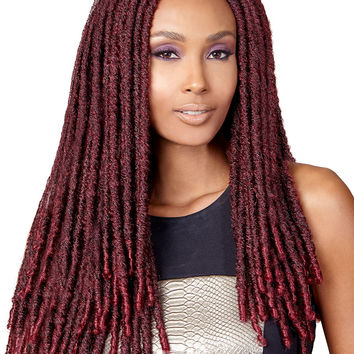 "Bobbi Boss Bomba Dreadlocks Faux Locs Soul 18"" Synthetic Braiding Hair"