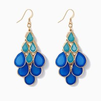 Aria Two-Tone Earrings | Fashion Jewelry | charming charlie