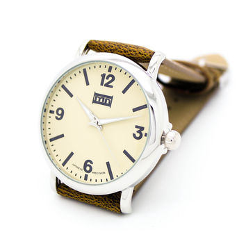Timeless unisex strap watch (3 colors)