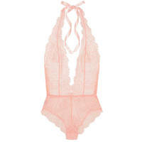 L'Agent by Agent ProvocateurGrace Lace And Stretch-tulle Bodysuit