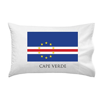 Cape Verde - World Country National Flags - Pillow Case Single Pillowcase