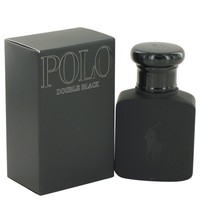 Polo Double Black By Ralph Lauren Eau De Toilette Spray 1.36 Oz