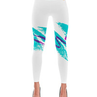 90's Retro Jazz Cup Print Leggings