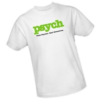 Title -- Psych Adult T-Shirt