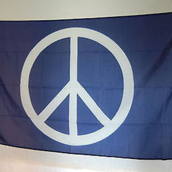 Peace Pacifist hippies FLAG Banner 3x5