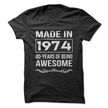 Age Tee / Being Awesome