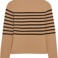 Topshop Unique - Broadwick striped wool and cashmere-blend sweater