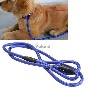 52Inch Strong Nylon Pet Dog Slip Training Traction Rope Leash Walking Lead Strap