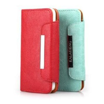 eBADA Premium Multi-Function iphone 5 Wallet Leather Case Cover & Credit Card Holder & Phone Stand for iPhone 5 - 6 Colors: Cell Phones & Accessories