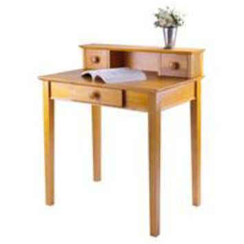Winsome Wood 99333 Studio Writing Desk with Hutch