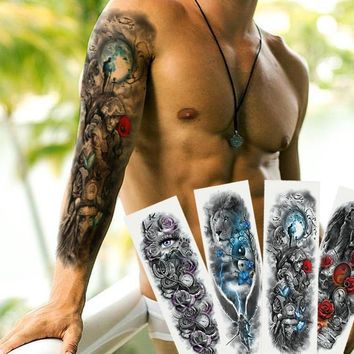 Extra Large Full Arm Temporary Tattoos