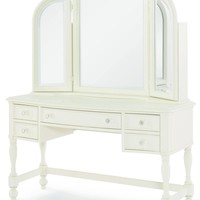 4910 Harmony - Complete Desk/Vanity Mirror With Desk Chair