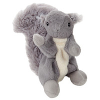 ToyShoppe&reg Plush Squeaky Squirrel Dog Toy