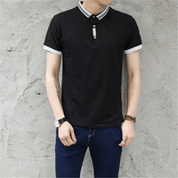 M-5XL 100% cotton polo shirt men