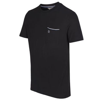 Original Penguin Pocket Crew T-Shirt - Black