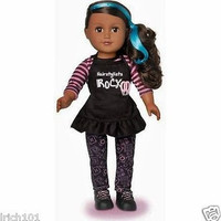 """18"""" Hair Stylist African American Doll With Cute Clothes, Scissors and Brush"""