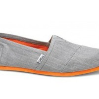 Grey Denim Pop Men's Classics  | TOMS.com