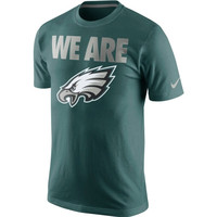 Philadelphia Eagles Nike Team Verbiage T-Shirt – Midnight Green