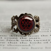 Silent Hill Halo of the Sun antique style BRONZE Ring